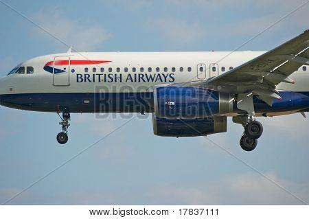 Ba Airbus A320 Close Up