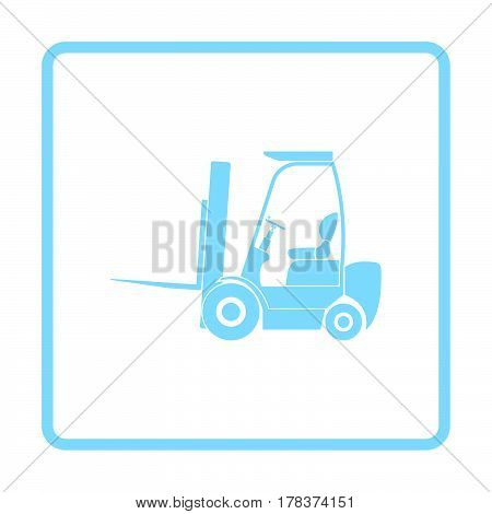 Warehouse Forklift Icon