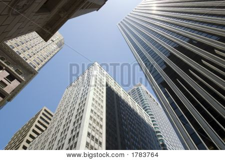 Skyscrapers In Downtown San Francisco
