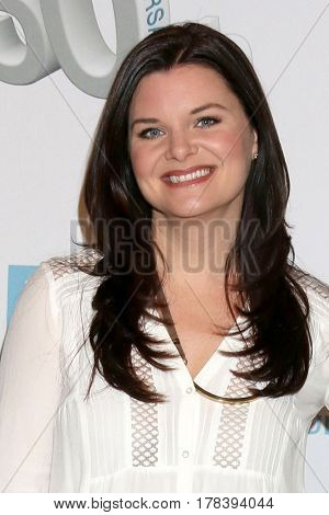 LOS ANGELES - MAR 23:  Heather Tom at the On Set celebration of 30 Years of Bold and Beautiful and their 23 Daytime Emmy nominations at CBS Televsision City on March 23, 2017 in Los Angeles, CA