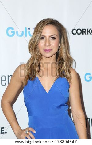 LOS ANGELES - MAR 21:  Anjelah Johnson at the Generosity.org Fundraiser For World Water Day at the Montage Hotel on March 21, 2017 in Beverly Hills, CA