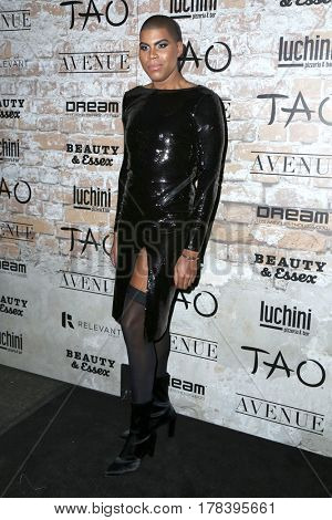 LOS ANGELES - MAR 16:  EJ Johnson at the TAO, Beauty & Essex, Avenue and Luchini Grand Opening at the Selma Avennue on March 16, 2017 in Los Angeles, CA