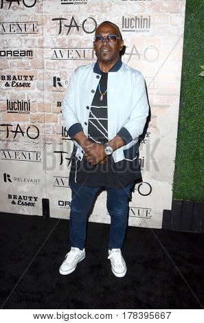 LOS ANGELES - MAR 16:  Randy Jackson at the TAO, Beauty & Essex, Avenue and Luchini Grand Opening at the Selma Avennue on March 16, 2017 in Los Angeles, CA