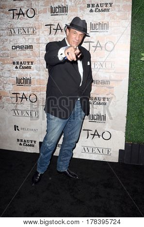 LOS ANGELES - MAR 16:  Robert Davi at the TAO, Beauty & Essex, Avenue and Luchini Grand Opening at the Selma Avennue on March 16, 2017 in Los Angeles, CA