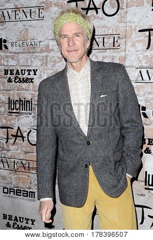 LOS ANGELES - MAR 16:  Matthew Modine at the TAO, Beauty & Essex, Avenue and Luchini Grand Opening at the Selma Avennue on March 16, 2017 in Los Angeles, CA