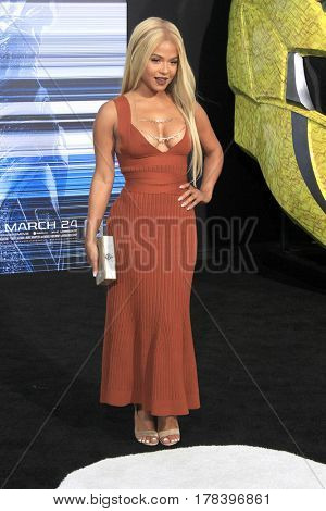 LOS ANGELES - MAR 22:  Christina Milian at the Lionsgate's