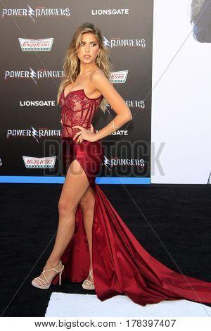 LOS ANGELES - MAR 22:  Kara Del Toro at the Lionsgate's