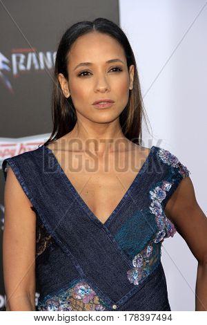 LOS ANGELES - MAR 22:  Dania Ramirez at the Lionsgate's