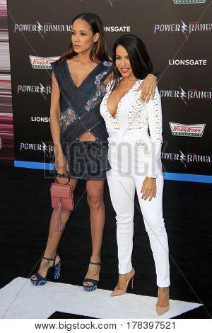 LOS ANGELES - MAR 22:  Dania Ramirez, Vida Guerra at the Lionsgate's
