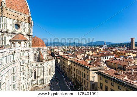 Florence Duomo, Basilica Santa Maria Del Fiore. Florence, Italy