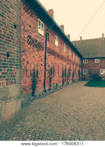 The old monastery. Shot in Ribe, Denmark