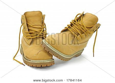 Unlaced Work Boots