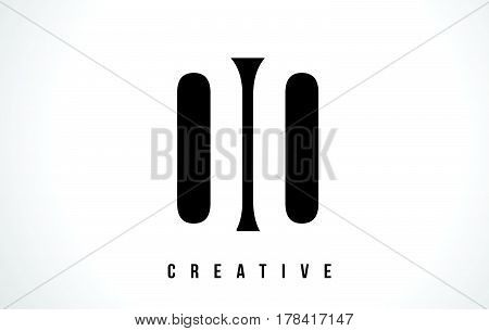 Qq Q Q White Letter Logo Design With Black Square.