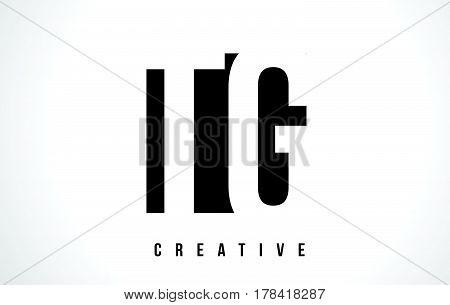 Tg T G White Letter Logo Design With Black Square.