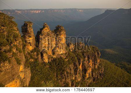 Three Sisters, Blue Mountains NSW, Australia