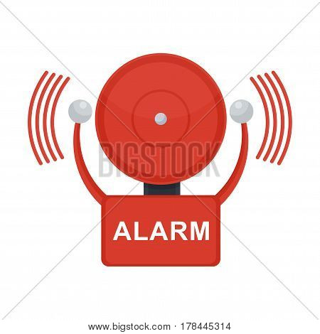 Fire Alarm On White