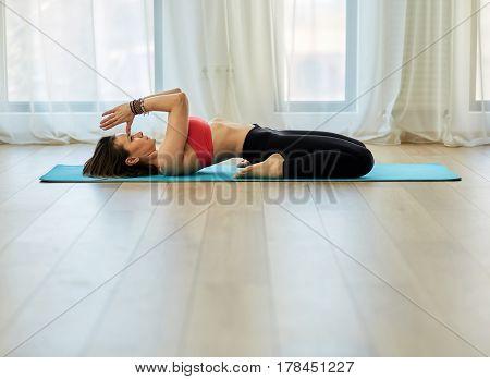 Yoga Trainer In Asana