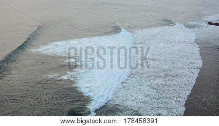 Beautiful Sea With Huge Waves