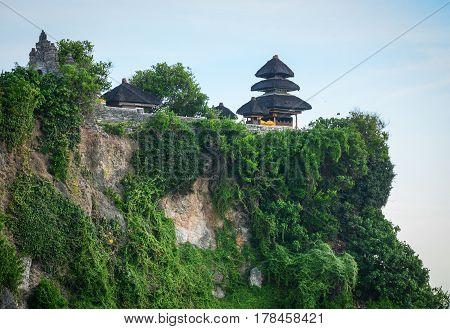Pura Uluwatu Temple In Bali Island, Indonesia