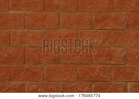 Background of a brick wall of a building