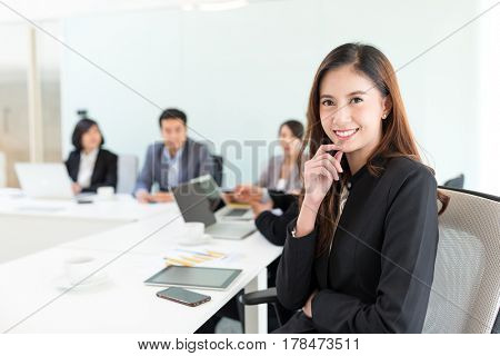 Business woman meeting in office