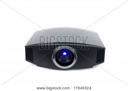 Home Theater Projector With Space For Text