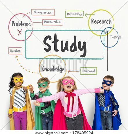 Education Study Childhood Skill Word