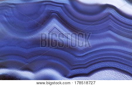 background with dark blue agate structure
