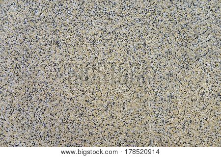 Cement Mixed Small Gravel Stone Wall Or Floor Texture Background,the Dust Texture. Abstract Dense Sp
