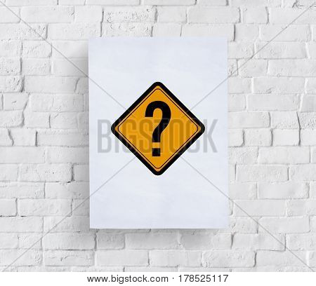 Question Mark Ask Sign Icon