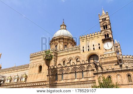 Palermo Cathedral is the cathedral church of the Roman Catholic Archdiocese of Palermo located in Palermo Italy.