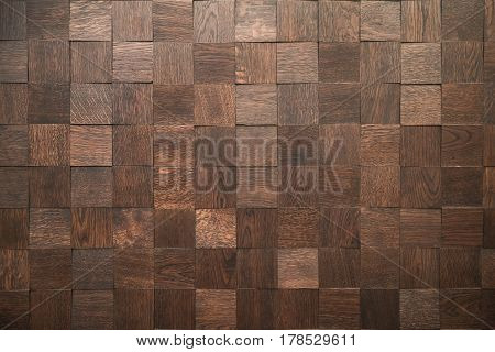 Wooden blocks - Decorative paneling pattern - seamless background - Fine natural structure - wall tile - Continuous replication, in the form of a bar