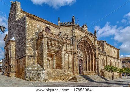 The church of San Pablo is one of the oldest in Ubeda Spain. It is believed to have been built since the Visigothic period