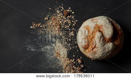 Cinnamon roll bun