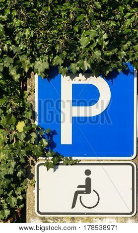 traffic signs of daily life in germany