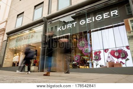 Kurt Geiger And Karen Miller Fashion Shops, London