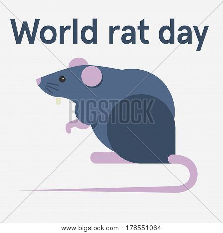 Rat Day Illustration