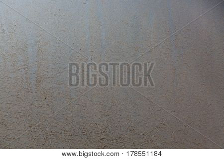 Fragment of dirty silver car door as a background.
