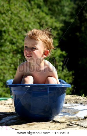 Boy In A Tub