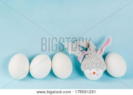 Easter Eggs Looking Like Bunnies