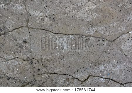 Old weathered concrete cement cracked texture background
