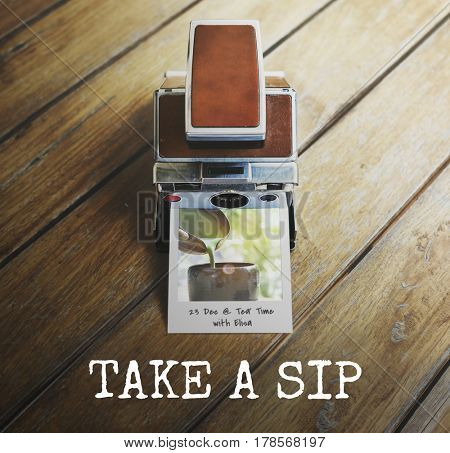 Sip Beverage Shill Casual Resting Drink