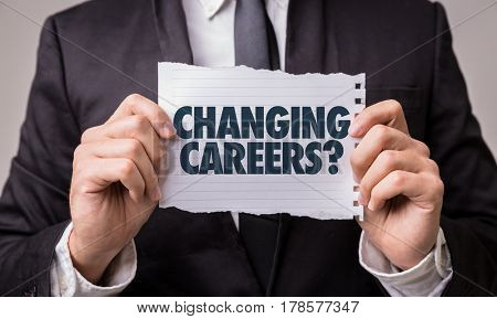 Changing Careers?