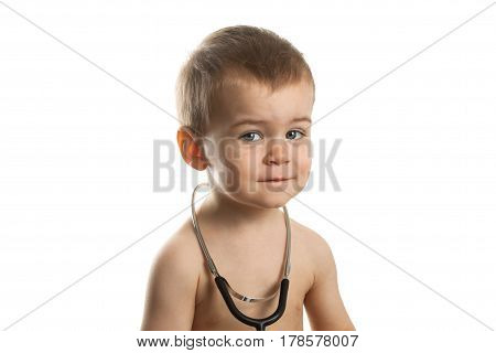 Children With Stethoscope