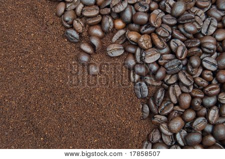 Coffee Beans And Grind