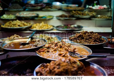 Selection Of Thai Food