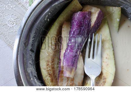 Roasted Fijian Eggplants