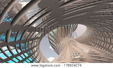 Contemporary Architecture   3D Rendering
