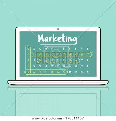 Business Strategy Investment Marketing Illustration