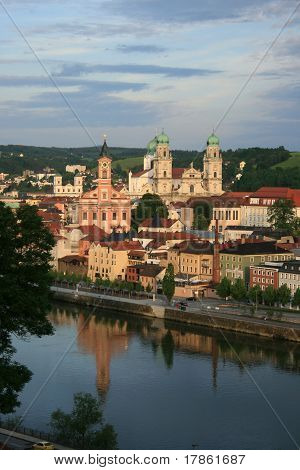 Passau - Old City And Danube